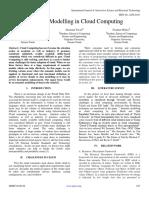 Semantic Modelling in Cloud Computing