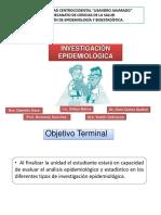 Tipos de Investigacion Epidemiologica