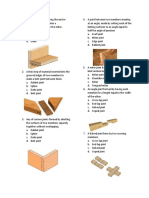 Questionaire (Joinery)