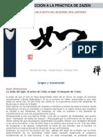 Introducción a La Práctica de Zazen -Butsudo Zen Dojo