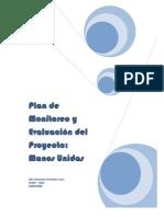 PLAN DE MONITOREO Y EVALUACIÓN M.U. 2009-2011