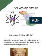 Timeline of Atomic Nature