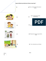 Hubungkan Gambar Dengan Kalimat Permintaan Tolong Yang Tepat