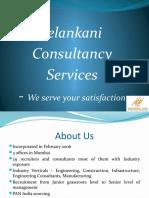 Corporate Profile - Velankani Consultancy Services