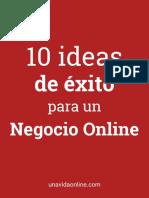 10 ideas de éxito para un negocio online.pdf