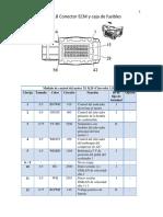 Chevtolet Trax Conector ECM y Fusilera