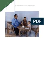 Foto Kegiatan Profesional Di Luar Gedung Nakes Puskesmas Tgl 29 Oktober 2018