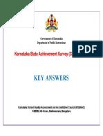 Key Answers - Csas 2018