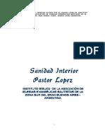 Sanidad Interior PastorLopez