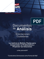 Como Es La Justicia en Bolivia