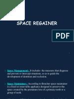 Space Regainer