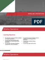 Wireline Operations