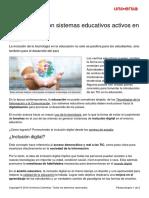 3 Paises Sistemas Educativos Activos Inclusion Digital