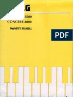 Piano Korg  C-4000