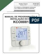 Manual de Programação e Instalação Do Kit Kco0081