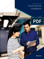 Microsoft Dynamics 365 Cloud Service Compliance Datasheet