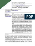Analisis determinan kinerja Bank Pembiayaan Rakyat Syariah di Indonesia (pendekatan Direct Error Correction Model)