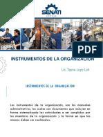 Instrumentos de La Org. ESTATUTO ROF MOF