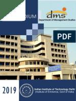 DMS-IIT Delhi Compendium 2019-21
