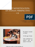 Patent Monetization- An Indian Perspective- Midhun