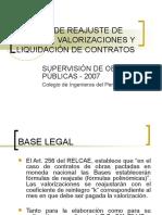 Control Económico de Obras Públicas Semana 11