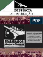 RESISTÊNCIA E ACOMODAÇÃO