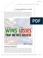 The 6 Most Costly Day Trading Mistakes I'Ve Made