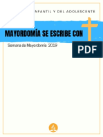 Semana de Mayordomia 2019