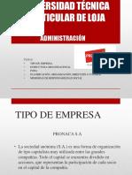 Administración-presentación