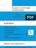 Sap Project Systems Overview-mpambi