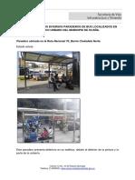 Diagnóstico de Los Diversos Paraderos de Bus Localizados en El Casco Urbano Del Municipio de Ocaña