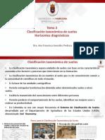 Tema 3. Clasificación Taxonómica-Horizontes Diagnósticos-1