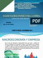 Analisis Macroeconomico Empresa II Presentacion Powerpoint