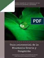 Guía Psicosocial Miastenia Gravis y Congénita Versión Web