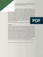 Diacronía, sincronía y disputa semántica
