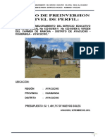 183005339 Ampliacion y Mejoramiento Del Servicio Educativo Del Nivel Inicial No 432 68 Mx v Virgen Del Carmen de Rancha Distrito de Ayacucho Huamanga Ayacu