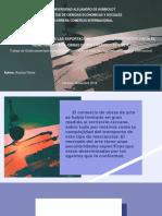 Analisis Del Dinamismo de Las Exportaciones de Obras de Arte - EEUU-RU