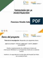Presentación Metodología de La Investigación