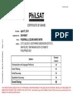 Philsat Test Result-2041905657