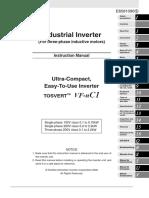 Toshiba VFnC1 Technical Manual Altivar ATV31