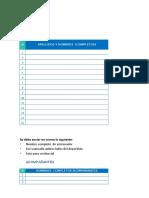 Formato de Inscripcion Campeonato Regional Norte de Ajedrez Escolar- 8,29 y 30 Junio 2019  SEDE PIURA