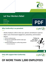 Let Your Workers Rebel