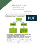 Características de los mercados