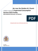 Crime Disorder Near the Sheldon M. Chumir Health Centres Supervised Consumption Services (SCS) Facility Q1