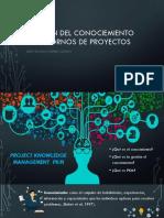 Gestión Del Conociemiento en Entornos de Proyectos