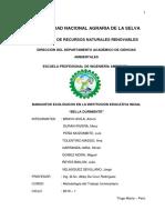 Proyecto de BANQUITOS ECOLOGICOS