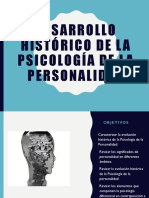 Desarrollo Histórico de La Psicología de La Personalidad 2018-2