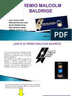 Premio Malcolm Baldrige (1)