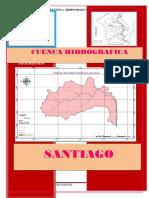 Cuenca 3 Santiago Proyecto Preciptacion Media -Caudales