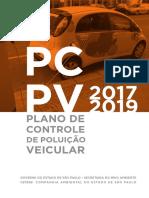 Plano Controle Poluição Veicular SP (2017-2019) - Cetesb